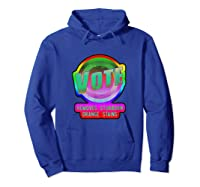 Anti Trump Vote Detergent Funny Watercolor Vintage T Shirt Hoodie Royal Blue