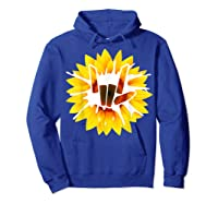 Share Love With Sunflower For And Shirts Hoodie Royal Blue