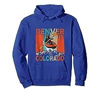Denver Colorado Water River Rapids Kayaking Shirts Hoodie Royal Blue