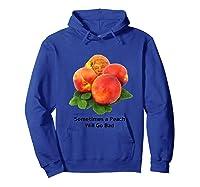 Sometimes A Peach Will Go Bad T Shirt Impeach Trump Mbassp T Shirt Hoodie Royal Blue