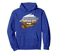 Traverse City Michigan Shirt For Midwest Gifts T Shirt Hoodie Royal Blue