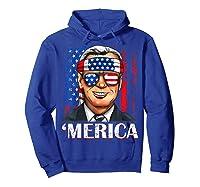 Joe Biden 2020 Merica 4th Of July Independence Day Usa T Shirt Hoodie Royal Blue