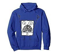 Spongebob Squarepants Doodlebob Me Hoy Minoy Mouth T-shirt Hoodie Royal Blue
