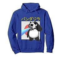 Japanese Vintage Panda Bear Retro Halloween Costume Shirts Hoodie Royal Blue