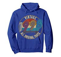 Vintage 21st Birthday Gift Shirt For Classic 1998 T-shirt Hoodie Royal Blue