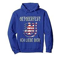 German Eagle Deutschland Us Flag Oktoberfest Shirts Hoodie Royal Blue