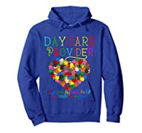 Daycare Provider Tshirt Appreciation Gift Childcare Tea T Shirt Hoodie Royal Blue