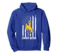 Wing Cow Nation Flag T Shirt Apparel Hoodie Royal Blue