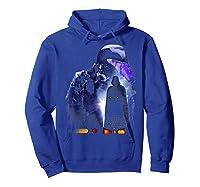 S Darth Vader Shadow Silhouette Shirts Hoodie Royal Blue