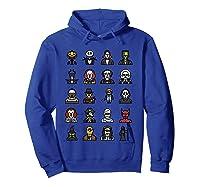 Friends Cartoon Halloween Character Scary Horror Movies T Shirt Hoodie Royal Blue