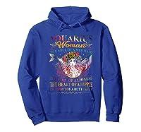Aquarius Woman The Soul Of A Mermaid T Shirt Birthday Tees Hoodie Royal Blue