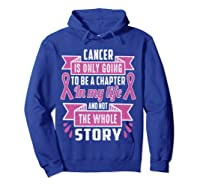 Breast Cancer Awareness Month Pink Ribbon Warrior T T Shirt Hoodie Royal Blue