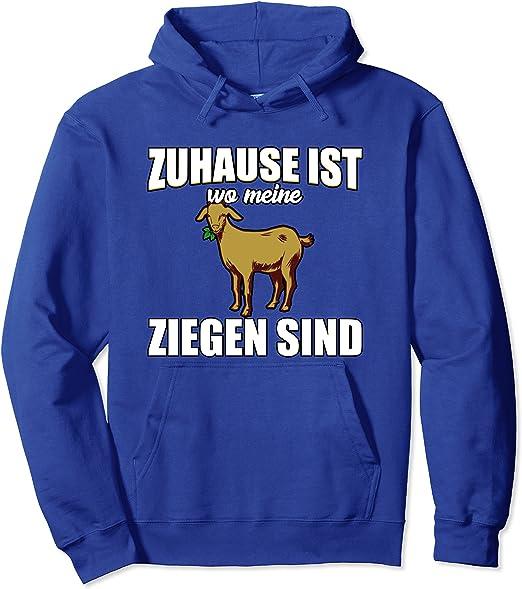Ziege Tier Landwirtschaft Geschenk-Ich muss los Sweatshirt