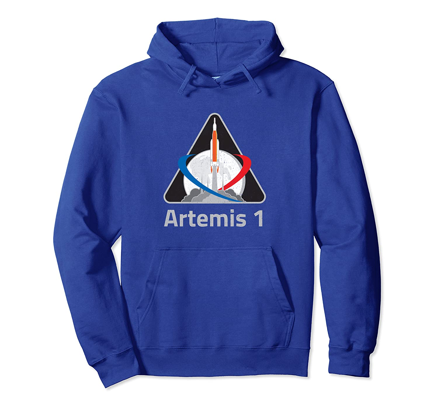 NASA Artemis 1 Patch We Are Going Moon To Mars 2024 Vintage Pullover Hoodie-TH