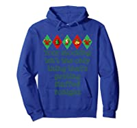 Stocking Stuffed Funny Adult Christmas Shirt For T-shirt Hoodie Royal Blue