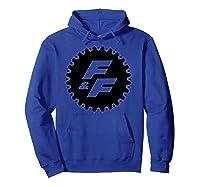 Fast Furious Gear Circle Logo Pullover Shirts Hoodie Royal Blue