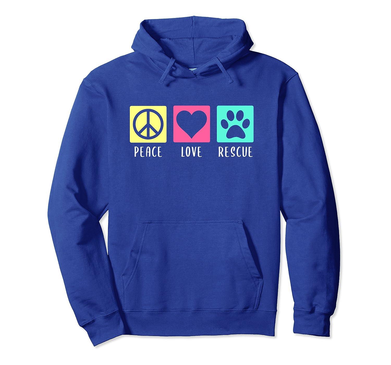 Arizona Small Dog Rescue – Peace Love Rescue Pullover Hoodie