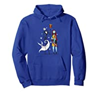 Disney Nightmare Before Christmas Gift Shirts Hoodie Royal Blue