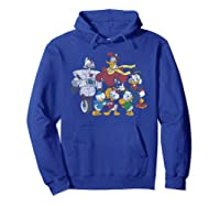 Duck Tales Tank Group Graphic Shirts Hoodie Royal Blue