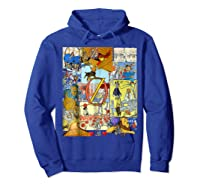 Wizard Of Oz Montage Shirts Hoodie Royal Blue