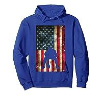 Flag Football Pittsburgh Lineman Gift Shirts Hoodie Royal Blue
