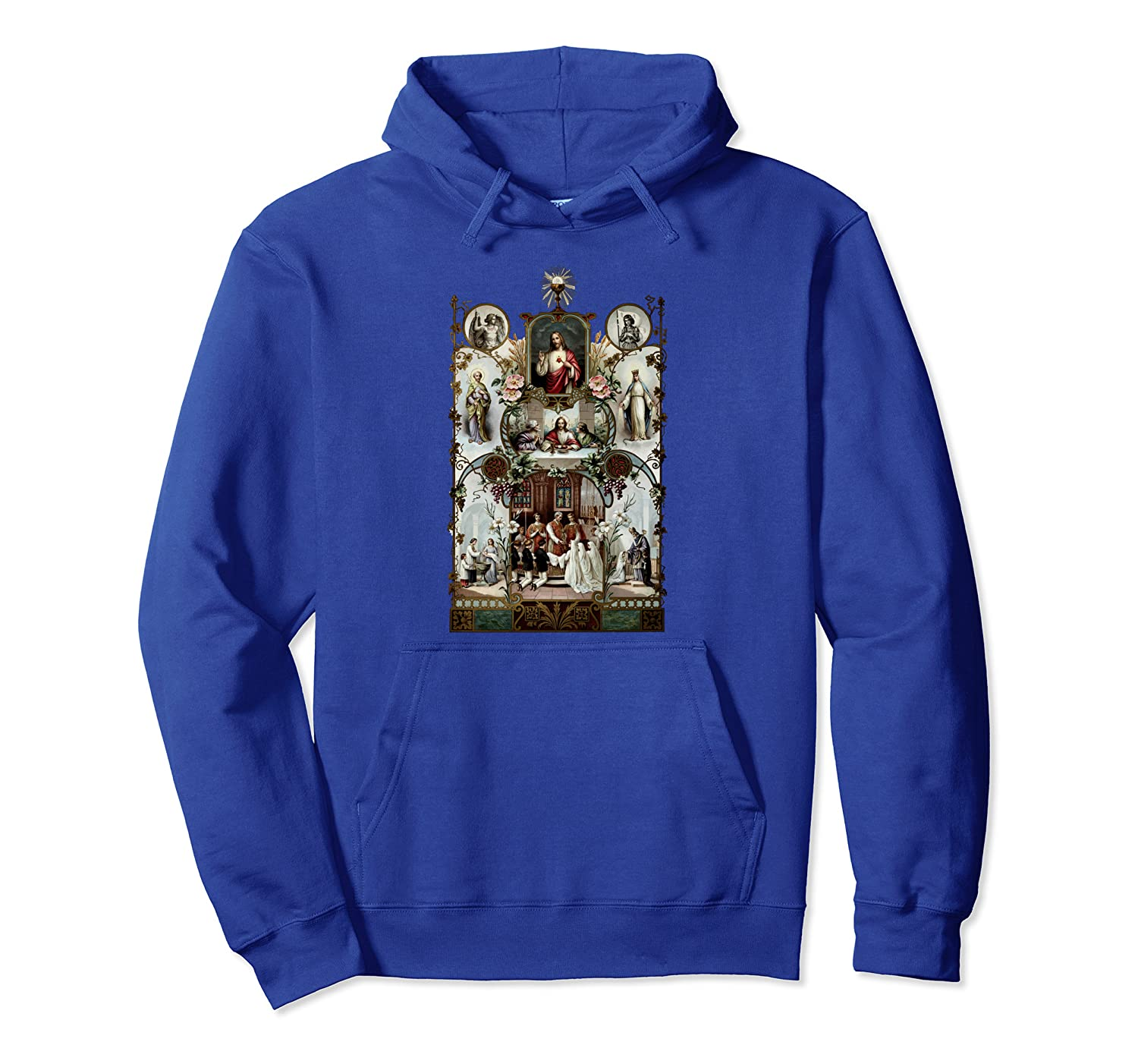 Catholic 1st Holy Communion Traditional Latin Mass Gifts Pullover Hoodie