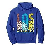 Los Angeles Shirt California City Los Angeles T Shirt Hoodie Royal Blue