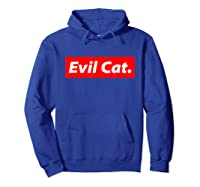 Evil Cat Streetwear For And Evil Cat Shirts Hoodie Royal Blue