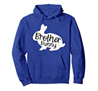 Brother Bunny Cute Rabbit Family Easter Gift Shirts Hoodie Royal Blue