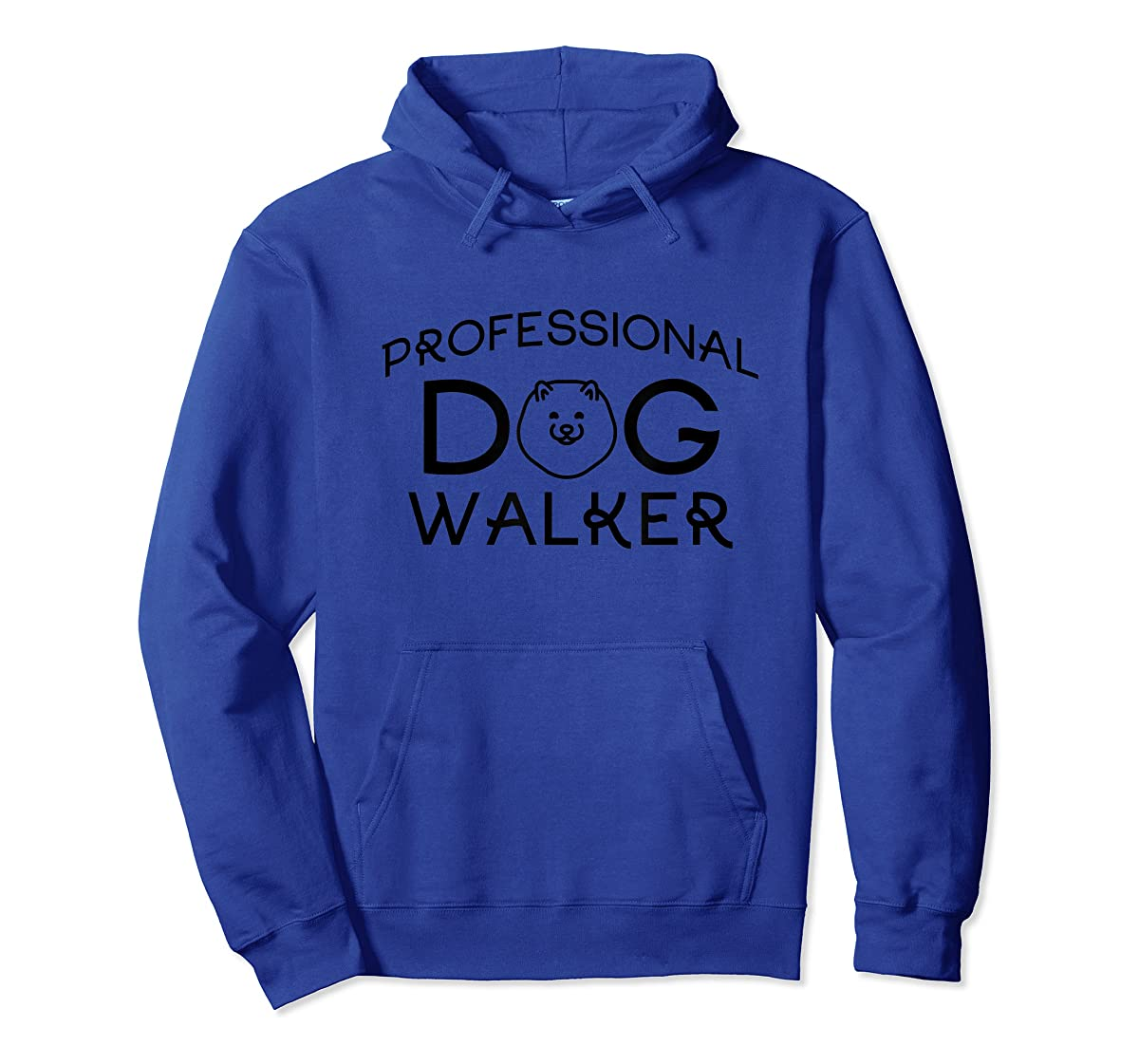 Professional Dog Walker Cute Puppy Tshirt Pet Lover T-Shirt-Hoodie-Royal