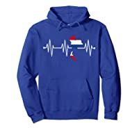 Heartbeat Thailand Shirt For And  Hoodie Royal Blue