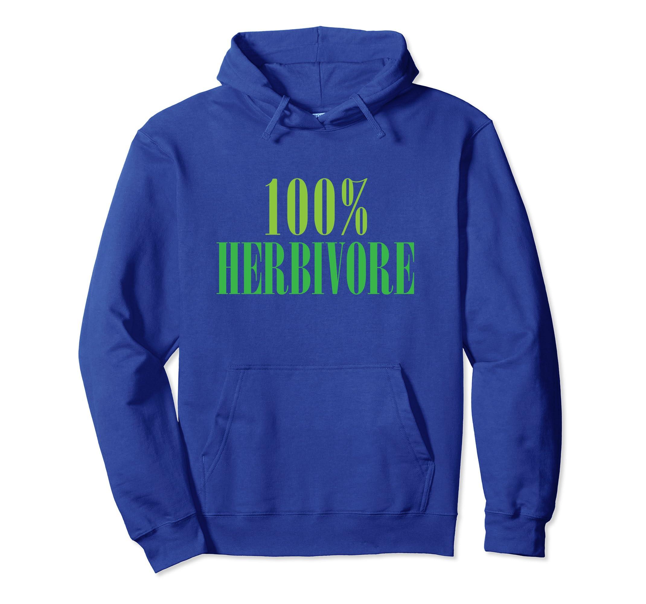 100% Herbivore Vegan Hoodie