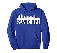 San Diego City Skyline Hot 2019 T Shirt Hoodie Royal Blue