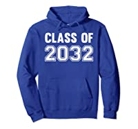 Class Of 2031 Grow With Me First Day Of School Shirts Hoodie Royal Blue