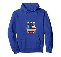 Usa Flag United States 2019 Soccer Us Futbol Shirts Hoodie Royal Blue