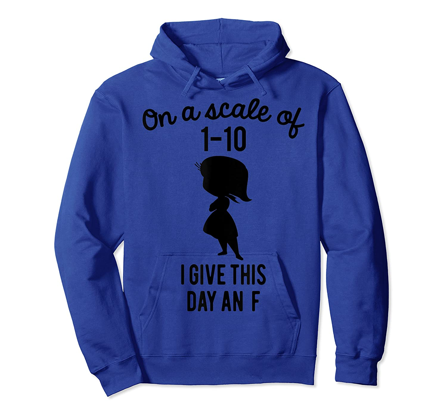 Pixar Inside Out Scale Of 1 10 Graphic Shirts Unisex Pullover Hoodie