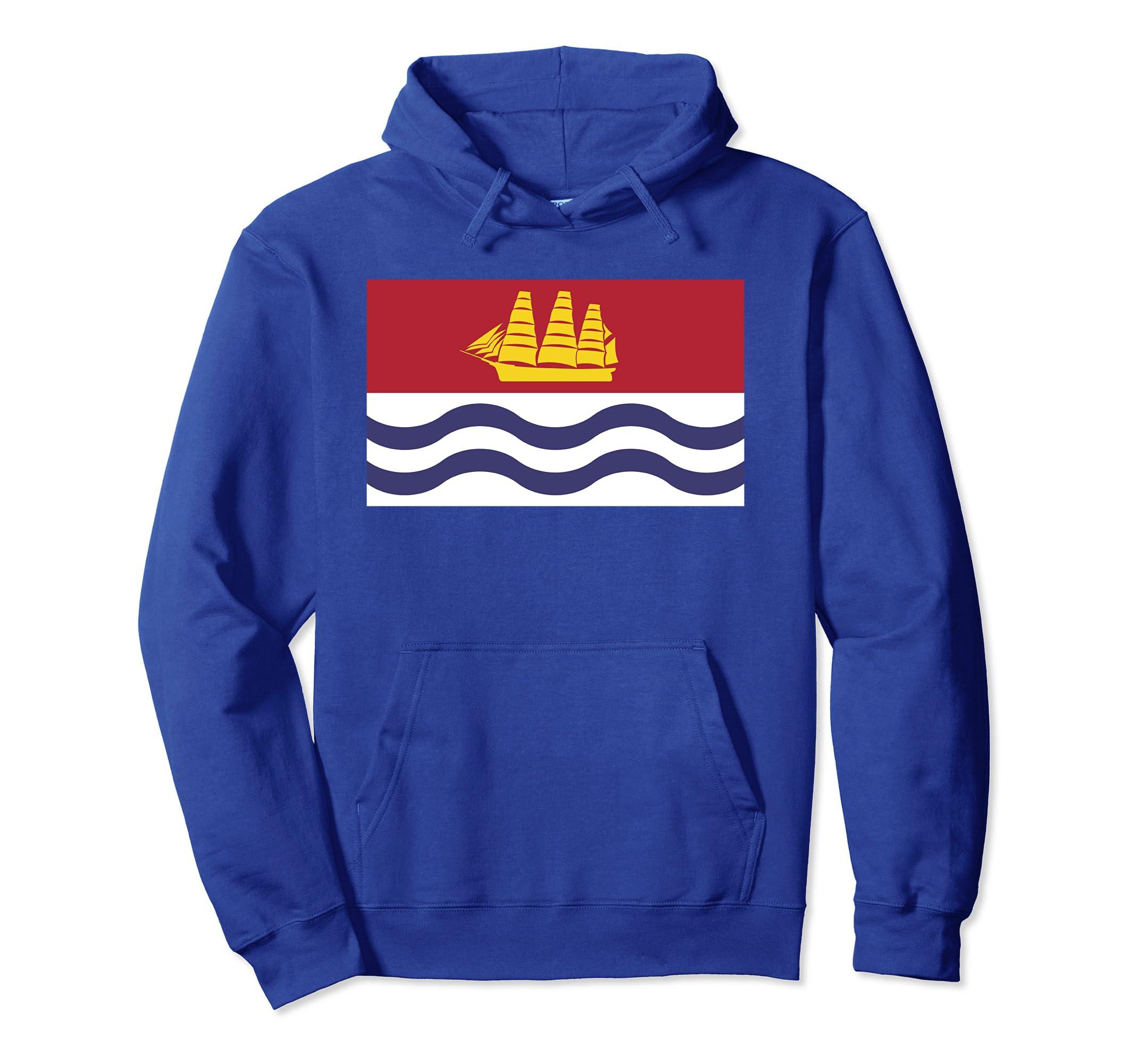 Bath Maine City Flag Hoodie-Awarplus