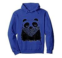 Panda Bandit Tshirt Hoodie Royal Blue