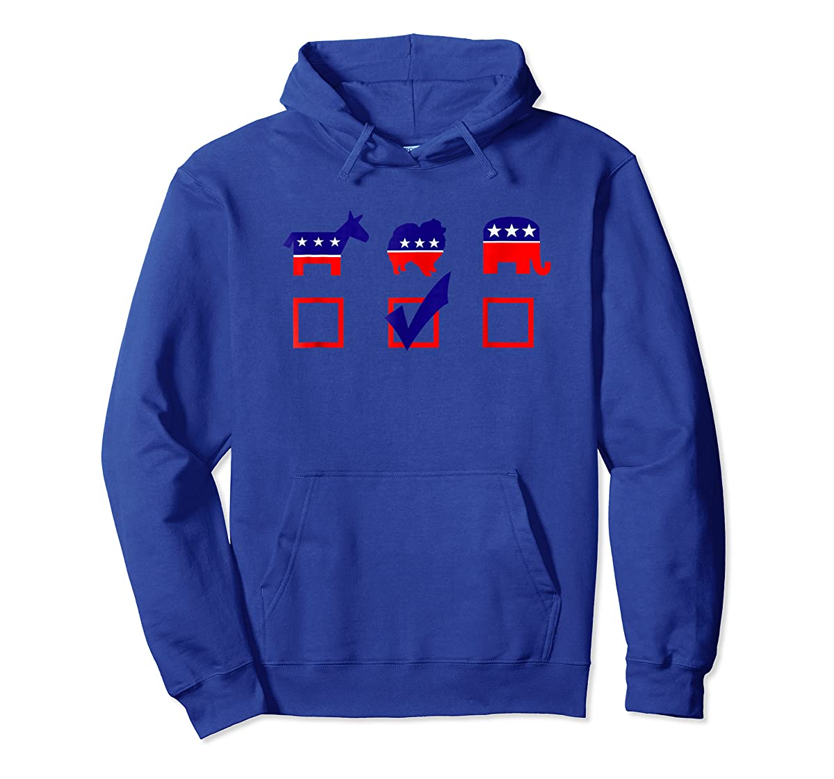 Vote Pomeranian For President T-shirt Cool Dog Lover Shirt-Hoodie-Royal