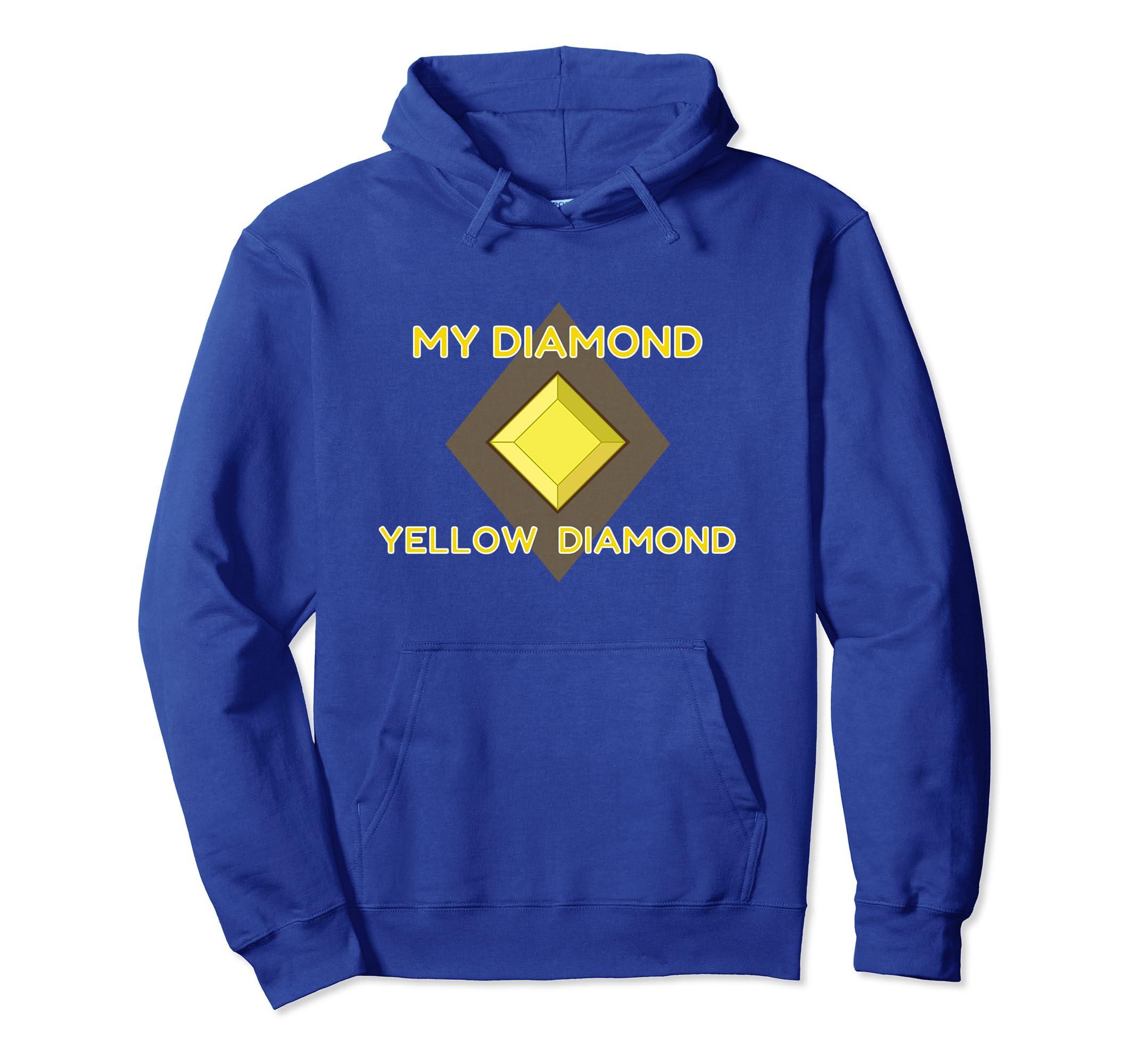 My Diamond, Yellow Diamond   Beautiful Universe Gem Hoodie-Veotee