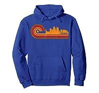 Retro Cincinnati T Shirt Cincinnati Oh Skyline Shirt Hoodie Royal Blue