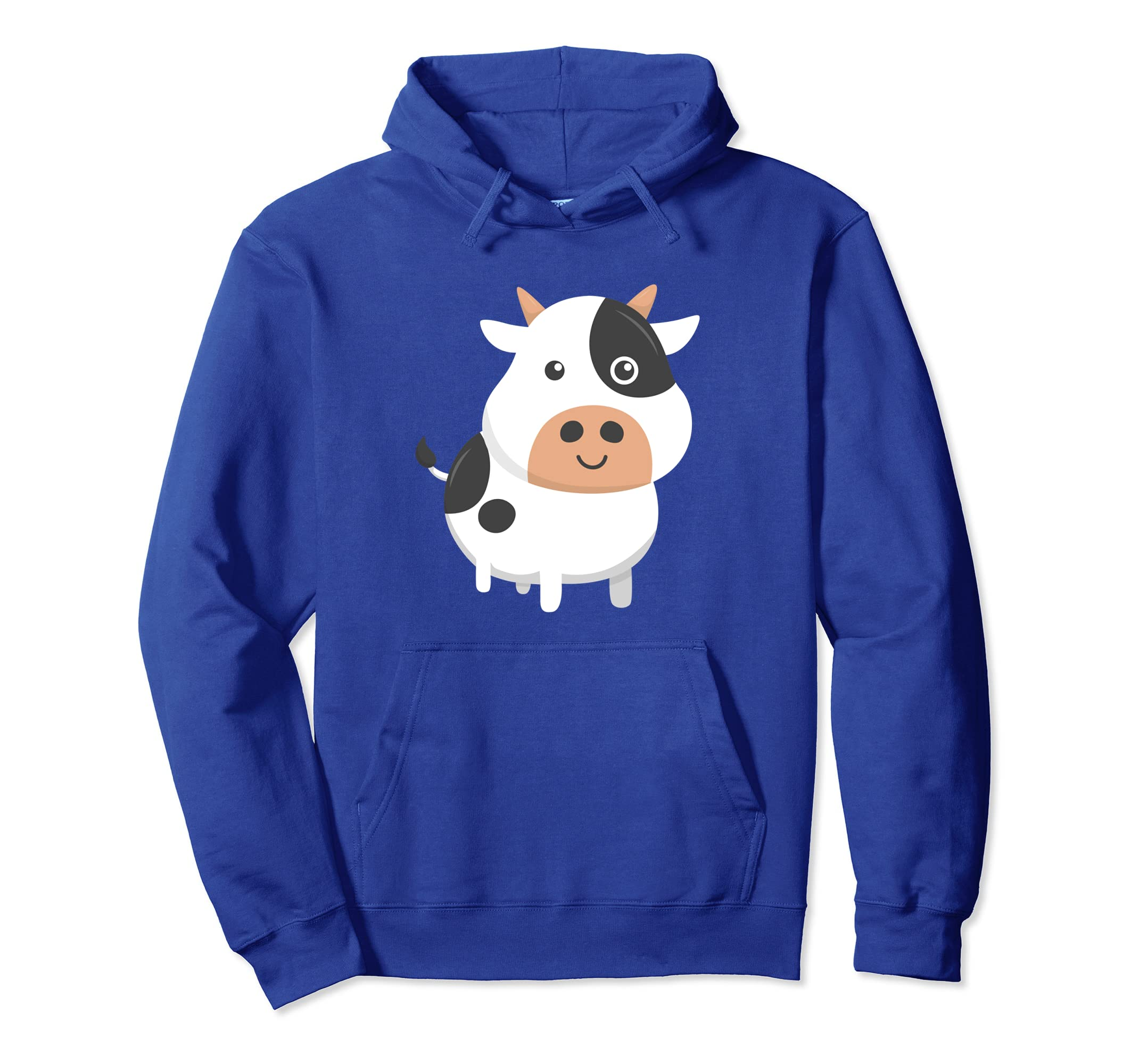 3c85f1c4c Amazon.com: Adorable Cow & Cute Baby Calf Hoodie for Cow Lovers: Clothing