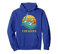 Catalina Souvenir Island California Shirts Hoodie Royal Blue