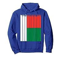 Madagascar Vintage Malagasy Flag Vacation Shirts Hoodie Royal Blue