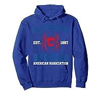 Cleveland Spiders Shirt Baseball Fan T-shirt Hoodie Royal Blue