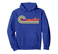 Retro Jefferson City T Shirt Jefferson City Mo Skyline Shirt Hoodie Royal Blue