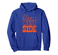Upper West Side Grocery Store Tribute T Shirt Hoodie Royal Blue