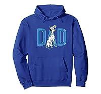 101 Dalmatians Pongo And Penny Dad Shirts Hoodie Royal Blue