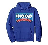 Ihoop Buckets For Breakfas Fun Basketball Shirts Hoodie Royal Blue