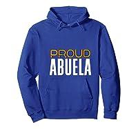Proud Abuela Gay Pride Month Retro Lgbtq Shirts Hoodie Royal Blue
